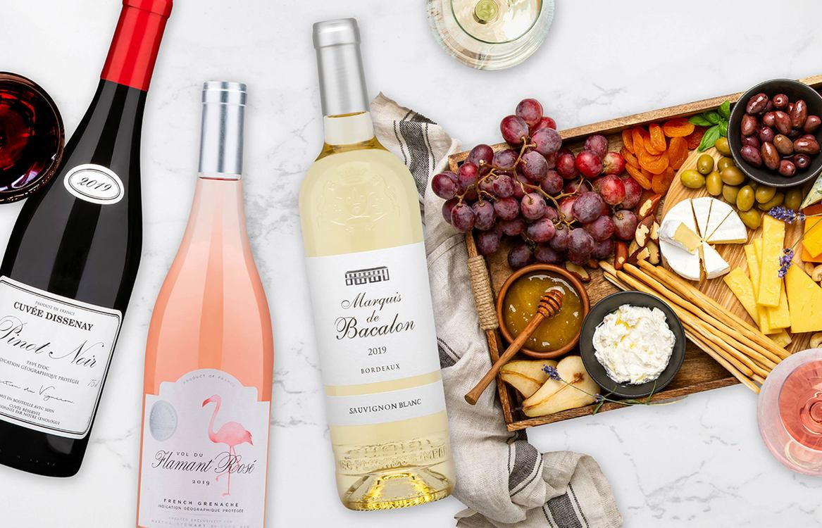 MARTHA'S HOLIDAY TASTING HALF-CASE Contains 2 Whites • 3 Reds • 1 Rosé